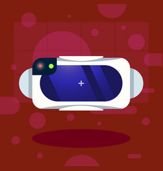 new model smart sport watch icon presentation vector image