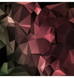 Polygon abstract texture in dark elegant vector image