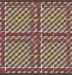 scottish tartan checkered seamless pattern vector image