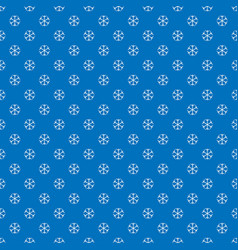 seamless winter snowy background filed with vector image