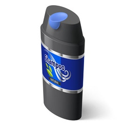 Shampoo icon vector