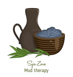 Spa theme object vector image