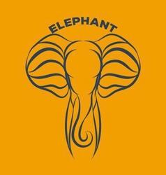 Elephant Logo vector image vector image