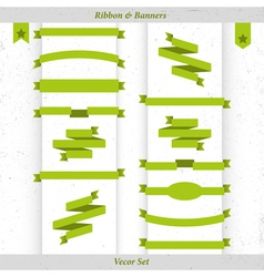 Ribbon and banners vector