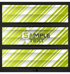 Abstract Green Stripe Background vector