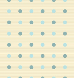 abstract retro seamless polka dot background vector image