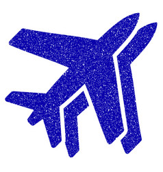 Airlines icon grunge watermark vector