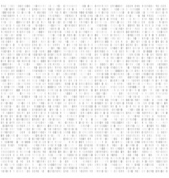 binary code digital technology background vector image