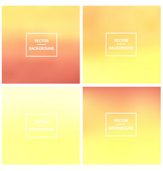 Blurred backgrounds vector