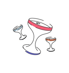 Celebration-Glasses-380x400 vector image