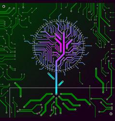 Circuit board tree vector