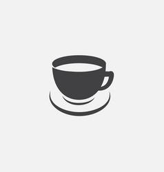coffe logo icon vector image