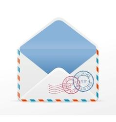 detailed envelope vector image