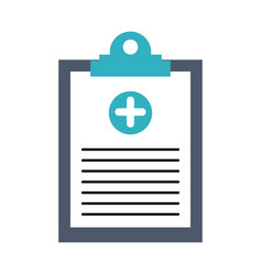healthcare related icon image vector image