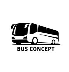 jet bus logo designs transport passenger travel vector image