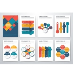 Modern infographic concept vector