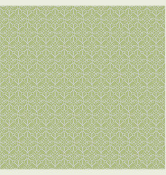 Seamless pattern i light green shades vector