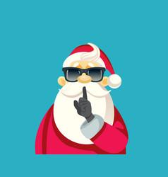 secret santa ready for christmas party vector image
