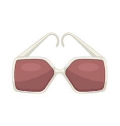 stylish sunglasses for women glamour eyewear vector image