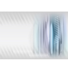 abstract shape grey blue vector image vector image