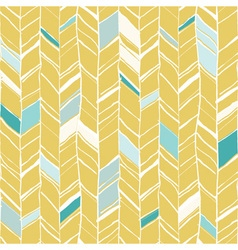 Sketchy herringbone seamless pattern vector image