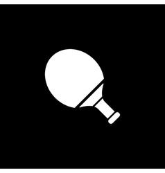 Tennis icon Game symbol Flat vector image