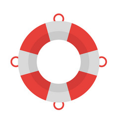 lifesaver float symbol vector image