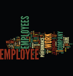 Are you in awe of your employees text background vector