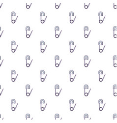 Safety pin pattern seamless vector