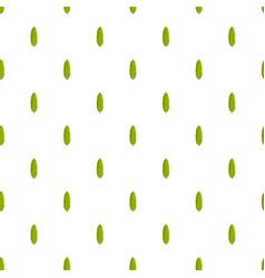 thuja tree pattern seamless vector image