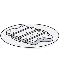Toast vector