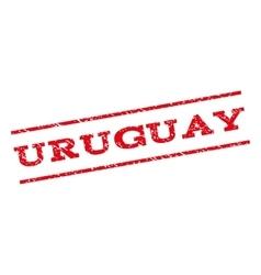 Uruguay Watermark Stamp vector