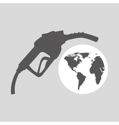 World oil industry station gasoline vector