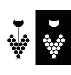 Wine sign vector