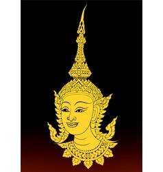 Angle thai motifs vector