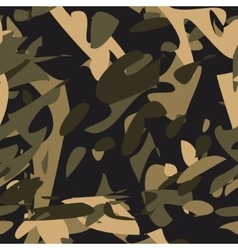 Camouflage seamless patternmilitary vector