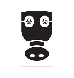 chemical mask icon concept for vector image