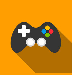 Controller flate icon for web and vector