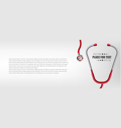 creative of medical health vector image