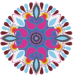 Diwali rangoli bright colors beautifull vector
