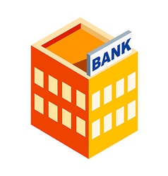 Icon bank vector