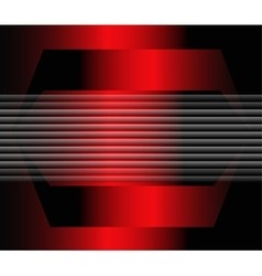 Red and black tech background vector
