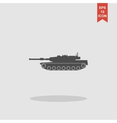 Tank icon concept for design vector image
