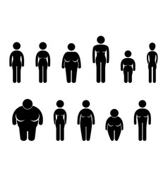 woman body figure size icon symbol sign pictogram vector image