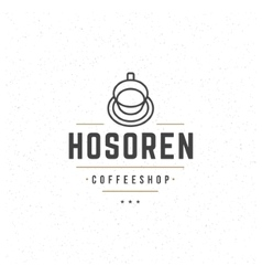Coffee Logo Template Design Element vector