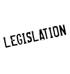 Legislation rubber stamp vector image