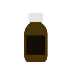 syrup icon vector image