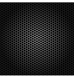 hexagon grid vector image vector image