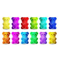 Gummy bear vector