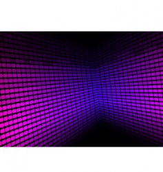 abstract background violet equalizer vector image